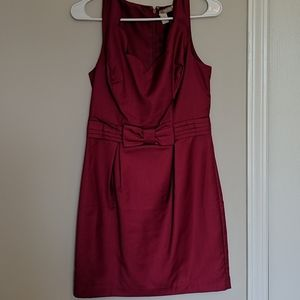Forever 21 Scallop Neck Line and Bow Waist Dress